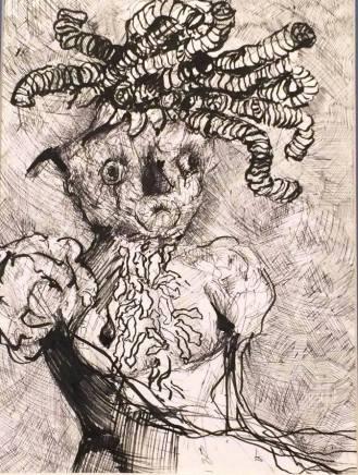 Grave Digger (drawing illustration)
