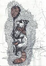 The empress' Favorite (drawing illustration)